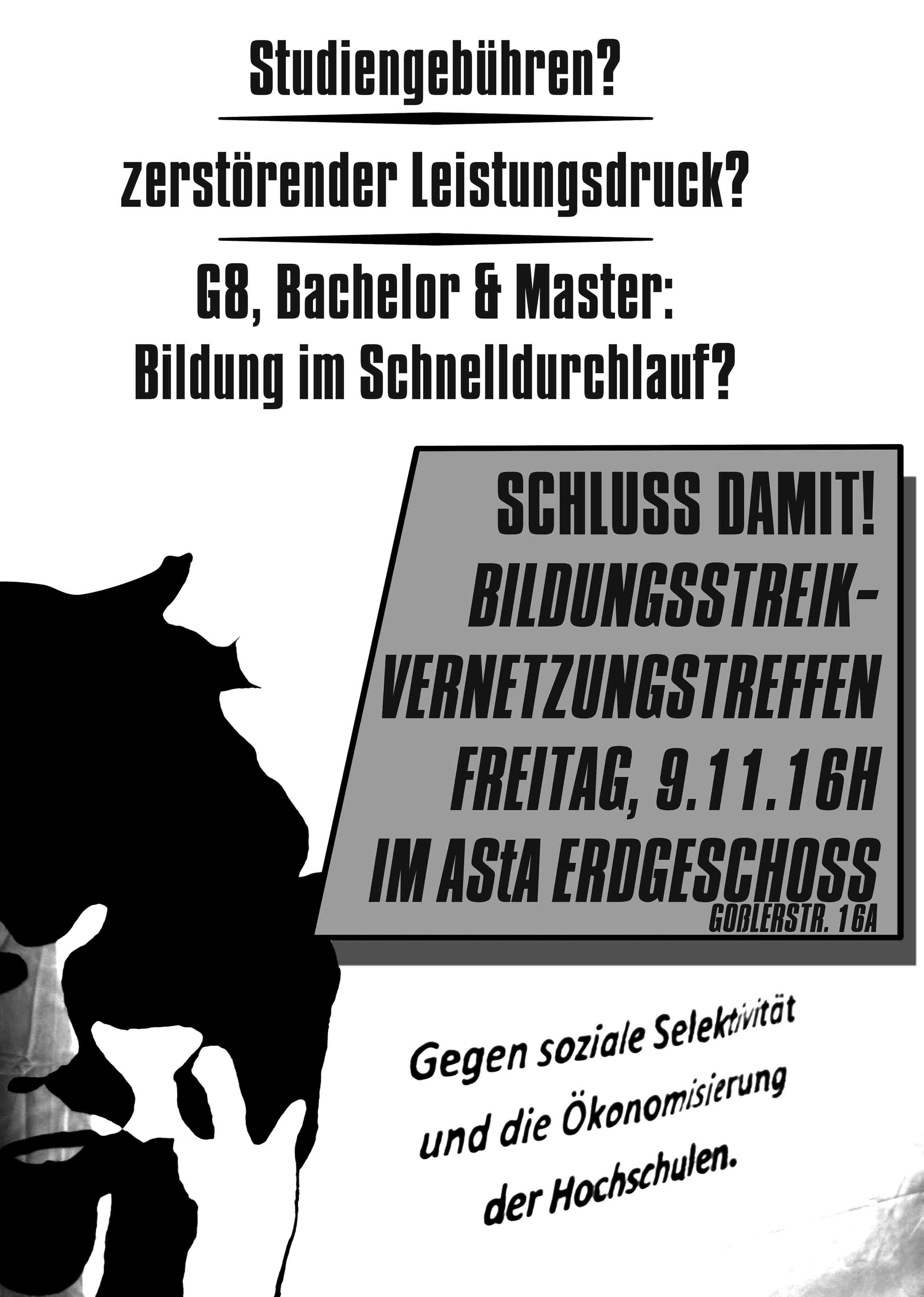 Poster Vernetzungstreffen